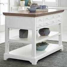 Table Kitchen Island - white kitchen islands u0026 carts you u0027ll love wayfair