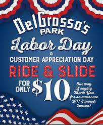 delgrosso s amusement park ride slide for 10 on labor day