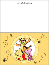 card winnie pooh invitations free printable ideas