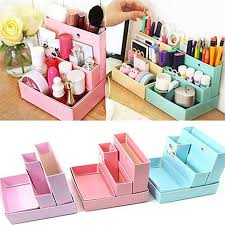 Diy Desk Decor Diy Paper Board Storage Box Desk Decor Stationery Makeup Cosmetic