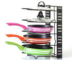 Cabinet Pan Organizer 2017 Pan Organizer Rack Kitchen Storage Cabinet Shelves Pot Holder