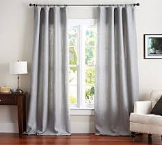 Wool Drapes Blackout Curtains Pottery Barn