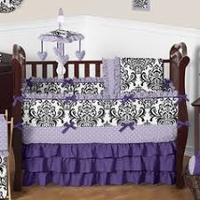 Purple Nursery Bedding Sets Purple Baby Bedding Purple Crib Bedding Sets Sweet Jojo Designs