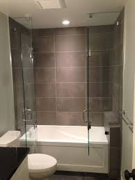 Bathtubs With Glass Shower Doors Framed Pivot Shower Doors Frameless Hinged Tub Door Installing On