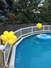 hosting a going away u2026bon voyage u2026pool party u2013 nwiballoons