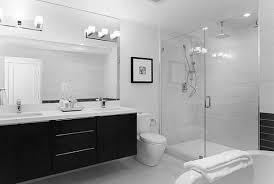 Bright Bathroom Lights Alluring Bathroom Lighting Ideas In Bright Room With Black Vanity