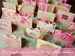 shabby chic wedding invitations how to create your own shabby chic style wedding invitations