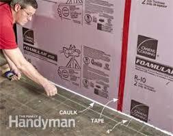 how to finish a basement wall family handyman
