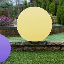 floating pool ball lights pk green floating pond pool ball light 60cm large outdoor ip67