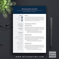 template cv word modern modern resume template cv cover letter 1 2 3 page download fre sevte