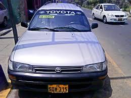toyota en station wagon toyota corolla m p año 1999