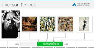 jackson pollock biography art and analysis of works the art story