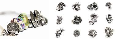 Flowers Of The Month Trollbeads Flowers Of The Month Kairos Jewellery