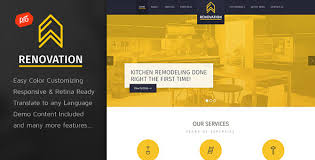 Home Renovation Websites Renovation Construction Company Theme By Progressionstudios