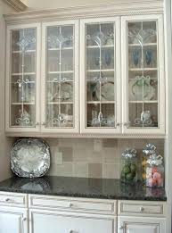 kitchen cabinets glass doors price cabinet only white modern both