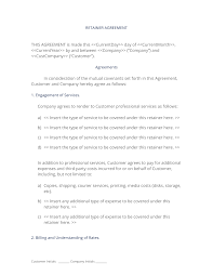 graphic design retainer agreement sample gallery agreement