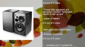 Bookshelf Powered Speakers Edifier R1280db Powered Bluetooth Bookshelf Speakers Optical