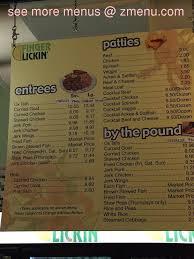 online menu of finger lickin u0027 bakery and restaurant restaurant