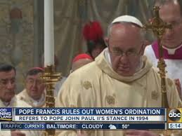 women priests diocese calls women priests u0027 mass and sacraments