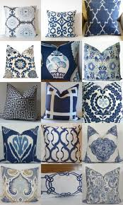 Blue Outdoor Cushions Best 25 White Cushions Ideas On Pinterest Navy Pillows Navy