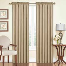 108 In Blackout Curtains by Eclipse Samara Blackout Energy Efficient Curtain Walmart Com