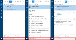 Windows Search Box - 10 tips and tricks to make you a cortana pro on windows 10