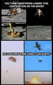 Memes Landing - moon landing hoax memes