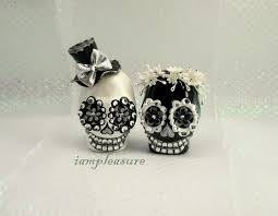 sugar skull cake topper and cake toppers alternabrides