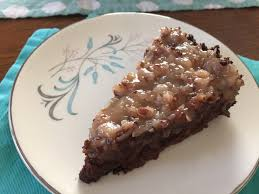 german chocolate tart