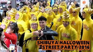 shibuya halloween costume street party 2016 in japan youtube