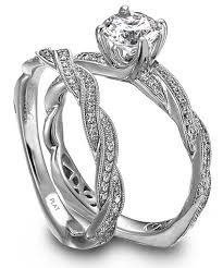 engagement ring and wedding band set types of wedding rings weddingelation