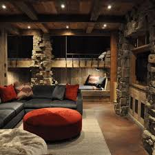 bunk room in basement rec room love this idea traditional kids