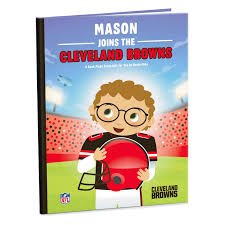 cleveland browns nfl football personalized book personalized