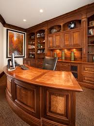 Built In Bookshelves With Desk by Kidney Shaped Desk Home Office Contemporary With Built In Desk