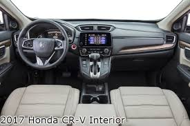 Honda Crv Interior Pictures How Does The 2017 Cr V Compare To The 2016 Planet Honda