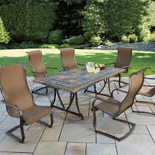 Agio Patio Table Patio Furniture 7 Dining Set Dining Room Sustainablepals 7