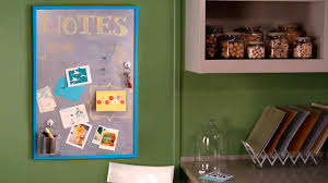 video creating a magnetic chalkboard and bulletin board martha