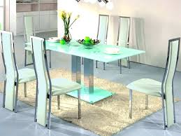 6 Seat Kitchen Table by Dining Table Small Round Black Glass Dining Table And Chairs