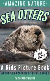 sea otters kids picture book sea otters fun facts