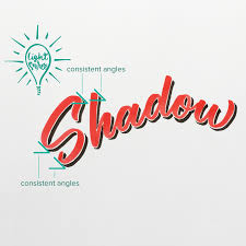 how to add shadow with a brush pen u2014 noah camp 3d lettering