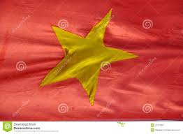 Flag With Yellow Star The Flag Of Vietnam A Yellow Star On Red Background Stock Image