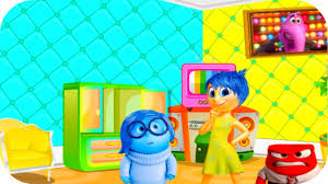 inside out movie video game riley new room decor decorating