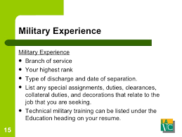 Job Experience On Resume by Resume And Cover Letters
