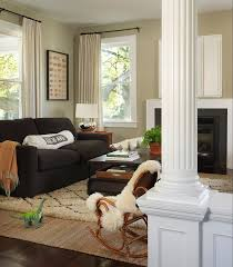 khaki paint color contemporary living room c2 vex kate