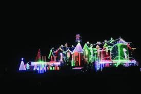 the great christmas light show larsen s light show is all new this year kane county chronicle