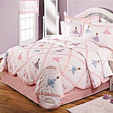 girls quilt bedding recital ballerina quilt