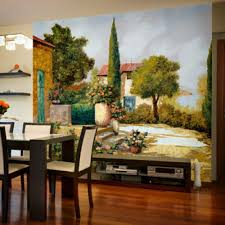 wall murals of rural landscapes wall murals the cypress guido borelli