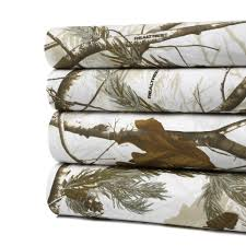 realtree camo snow sheet set u0026 reviews wayfair camo