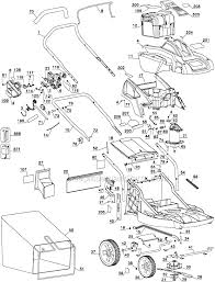 honda hrx217 type black and decker cm1936 parts list and diagram type 1