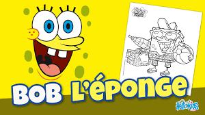 colorier un dessin de bob l u0027éponge hellokids youtube
